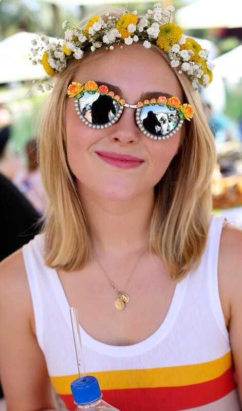 10 lepih hairstyles Flower dekle lahko poskusite danes