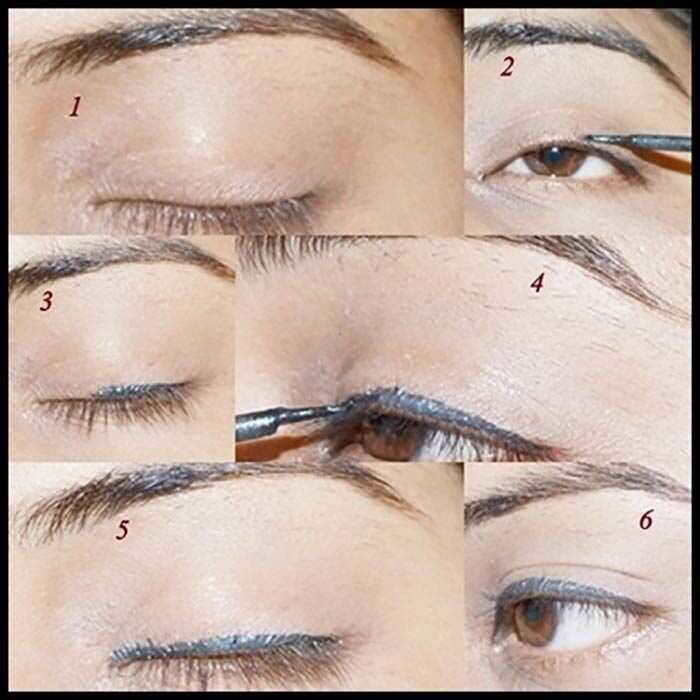 Tutorial pre začiatočníkov: Ako nosiť tekuté očné linky