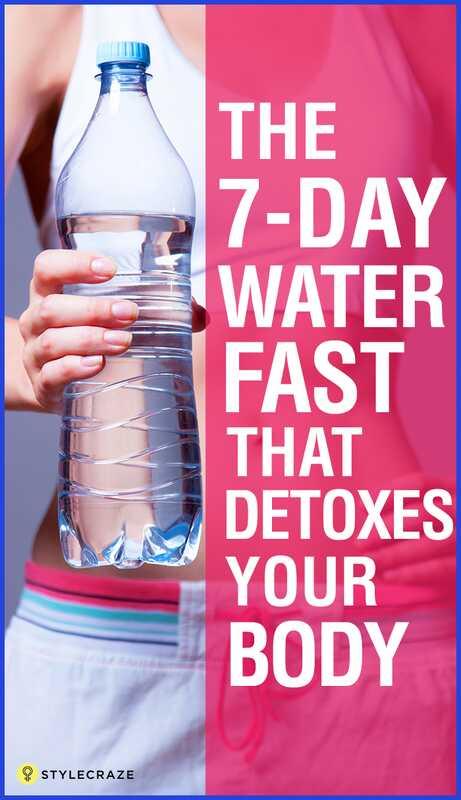 10 úžasných výhod rýchlej 7 dennej vody