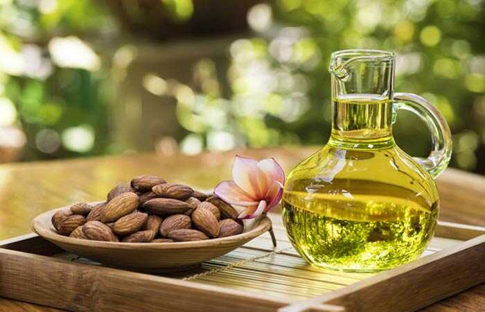 32 geweldige voordelen van amandelolie voor huid, haar en gezondheid