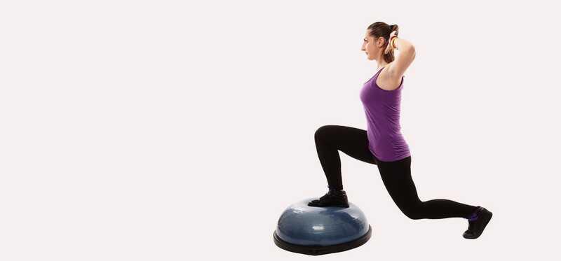 3 geweldige voordelen van Bosu Ball oefeningen