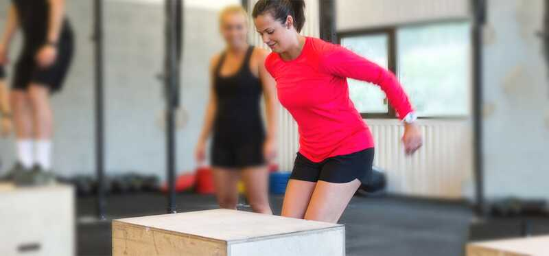 6 increïbles beneficis de Box Jump Workout