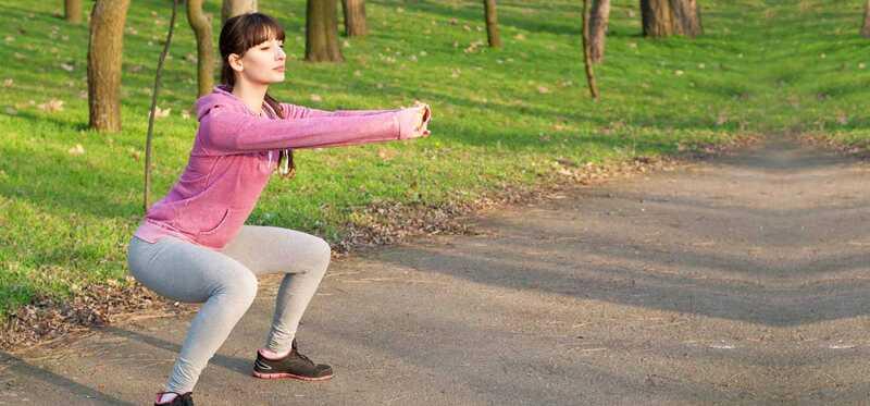 4 úžasné výhody Duck Walk cvičenie