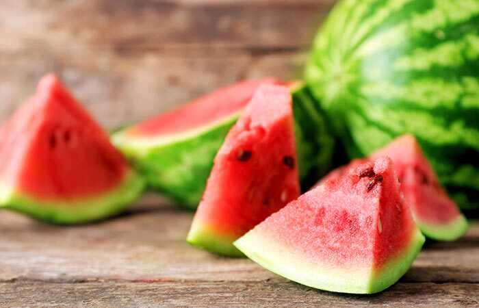 12 dávok jedenie melón (Tarbooz) počas tehotenstva