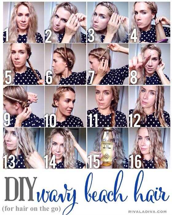 10 technik pro získání elegantních zvlněných vlasů