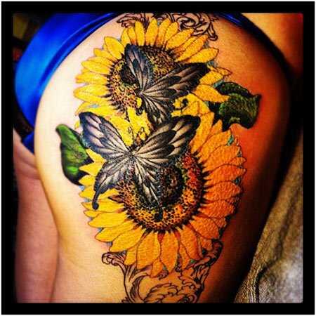 Beste Zonnebloem Tattoo Ontwerpen Onze Top 10 Nlhair